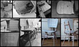 Maakproces Franse stoelen Patisserie